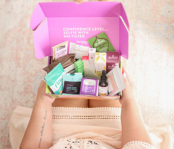 GoodnessMe x Nourished Life 'You Glow Girl' Beauty Collaboration Box