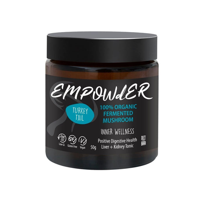 EMPOWdER Inner Wellness - Turkey Tail (Trametes Versicolor) 50g - GoodnessMe
