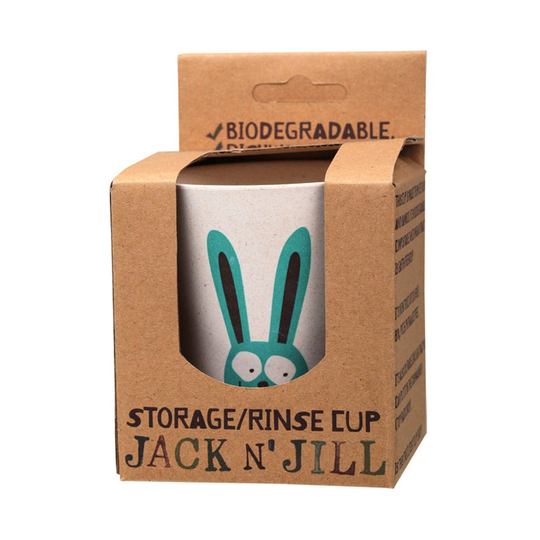 Jack N Jill Storage/Rinse Cup Bunny (Biodegradable Cup)