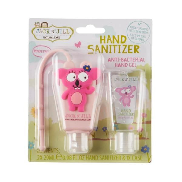 Jack N Jill Hand Sanitizer & Holder - Koala (2 x 29ml) - GoodnessMe