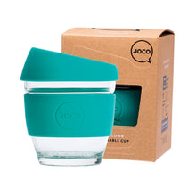 Joco Reusable Glass Cup Small 8 oz - Mint 236ml