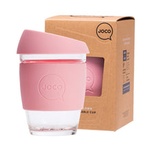 Joco Reusable Glass Cup Regular 12oz - Strawberry 354ml