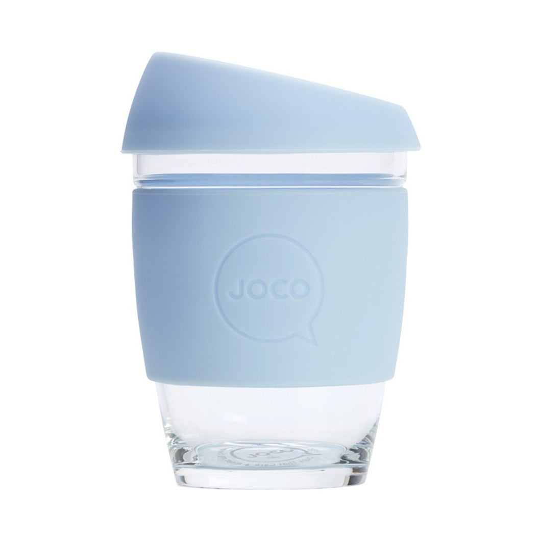 Joco Reusable Glass Cup Regular 12oz - Vintage Blue 354ml