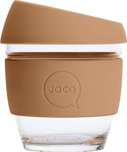 Joco Reusable Glass Cup XXSmall 4oz - Butterum 118ml