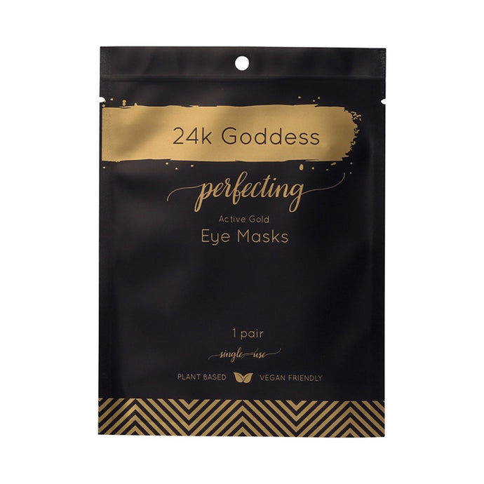 24K Goddess Perfecting Active Gold Eye Masks x10