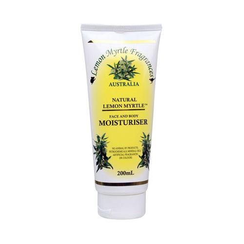 Lemon Myrtle Fragrances Moisturiser Lemon Myrtle 200ml - GoodnessMe