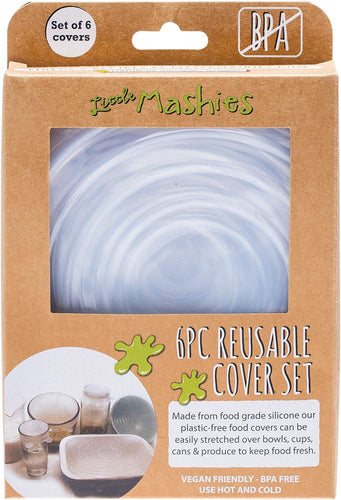Little Mashies Reusable Bowl Cover Set - Pack of 6 - GoodnessMe
