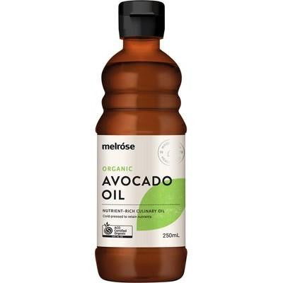 Melrose Avocado Oil Organic 250ml - GoodnessMe