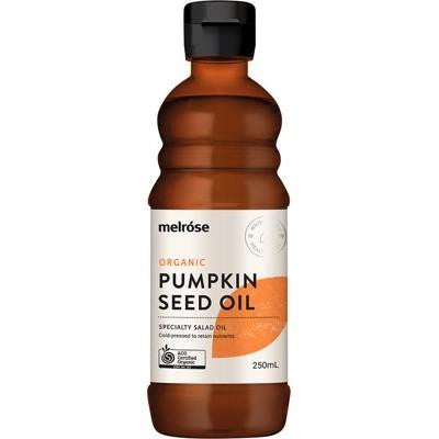 Melrose Pumpkin Seed Oil Organic 250ml - GoodnessMe