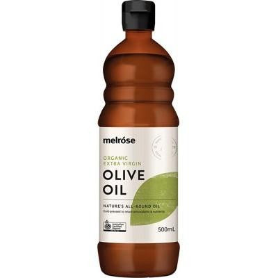 Melrose Extra Virgin Olive Oil Organic 500ml - GoodnessMe