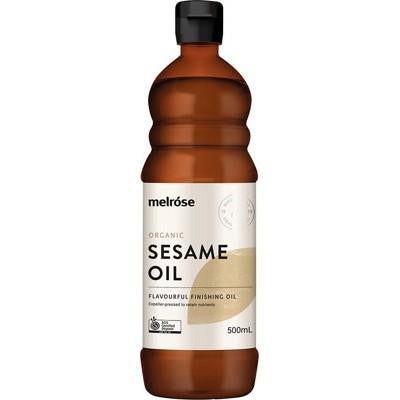 Melrose Sesame Oil Organic 500ml - GoodnessMe