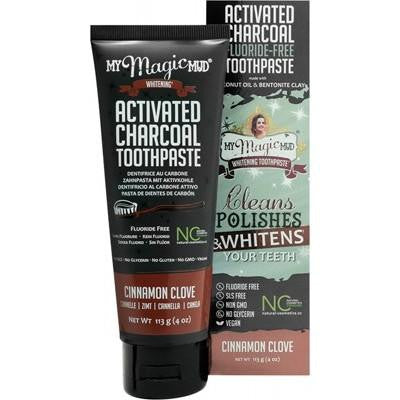 My Magic Mud Cinnamon Clove Toothpaste 113g - GoodnessMe