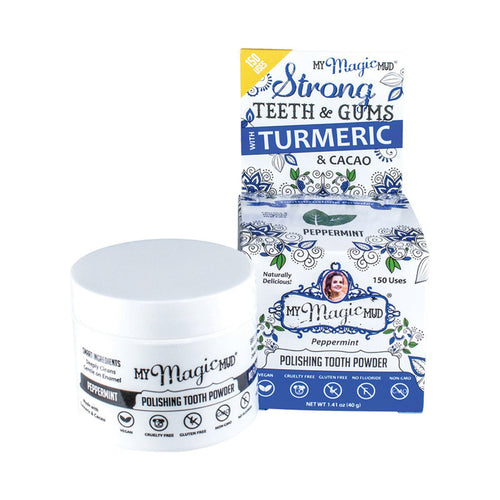 My Magic Mud Polishing Tooth Powder - Peppermint 40g - GoodnessMe