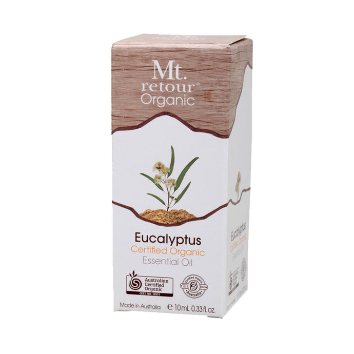 Mt Retour Essential Oil (100%) Eucalyptus 10ml - GoodnessMe