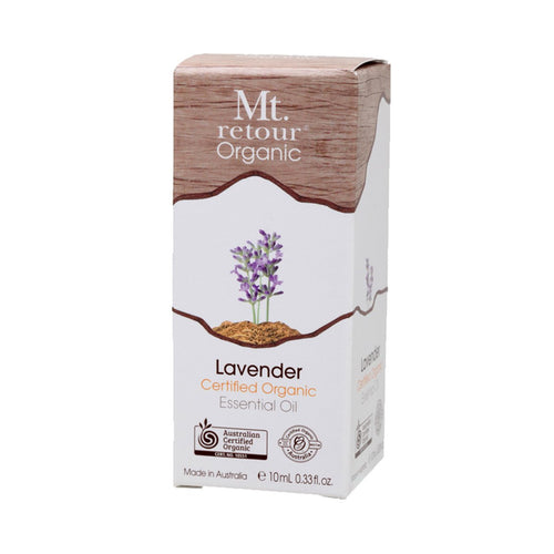 Mt Retour Essential Oil (100%) Lavender 10ml - GoodnessMe