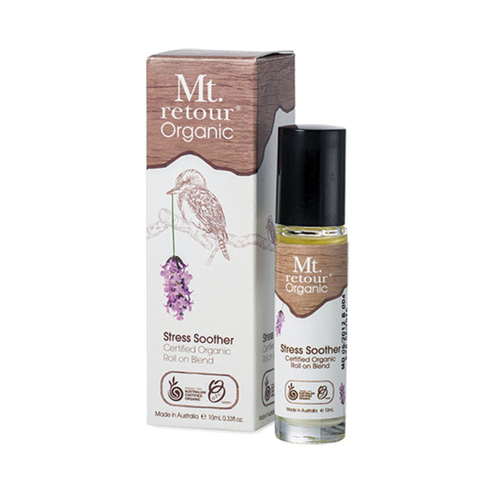 Mt Retour Essential Oil (100%) Stress Soother Blend (Roll-on) 10ml - GoodnessMe