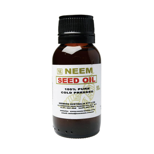 Neeming Australia Neem Seed Oil 100% Pure & Cold Pressed 50ml - GoodnessMe