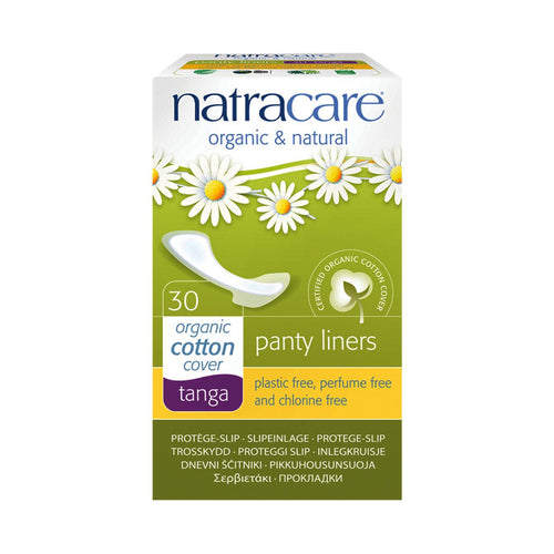 Natracare Panty Liners Tanga 30 pack - GoodnessMe