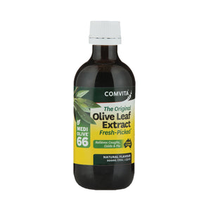 Comvita Olive Leaf Extract Natural (Medi Olive 66) 200ml