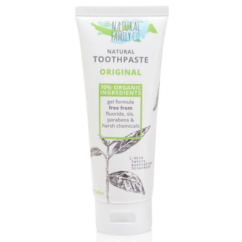 The Natural Family Co Natural Toothpaste Original 100g - GoodnessMe