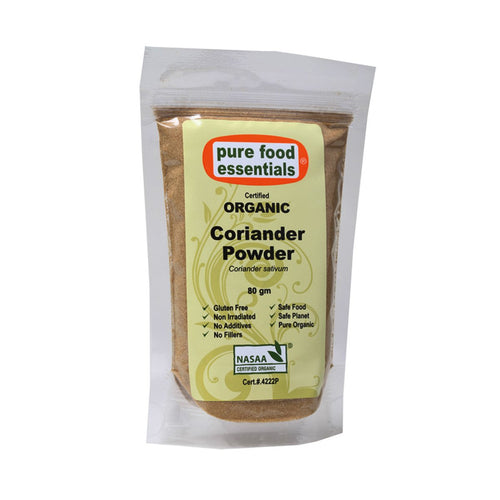 Pure Food Essetials Spices Coriander Powder 80g - GoodnessMe