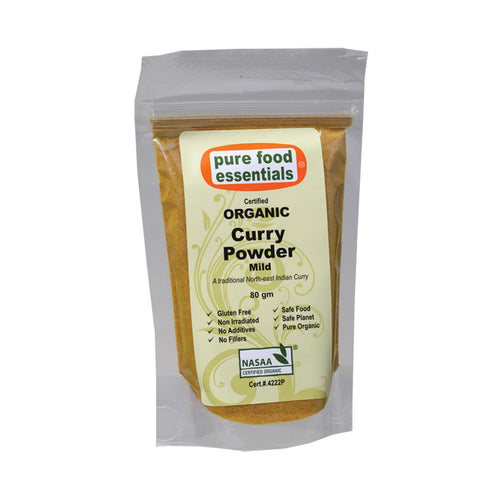 Pure Food Essetials Spices Curry Powder (Mild) 80g - GoodnessMe