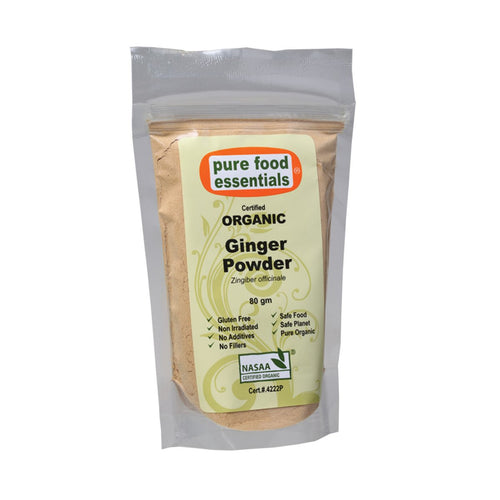 Pure Food Essetials Spices Ginger Powder 80g - GoodnessMe