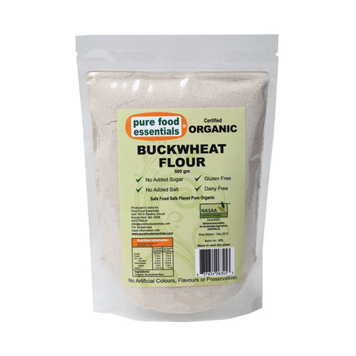 Pure Food Essetials Flour Buckwheat 500g - GoodnessMe