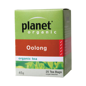 Planet Organic Herbal Tea Bags Oolong 25 bags
