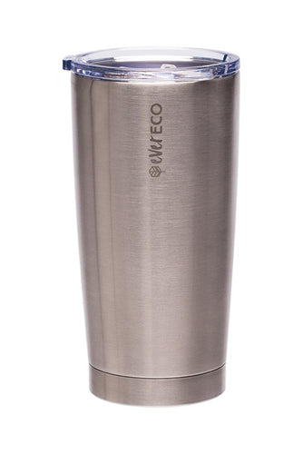 Ever Eco Insulated Tumbler Brushed Stainless Steel 592ml - GoodnessMe