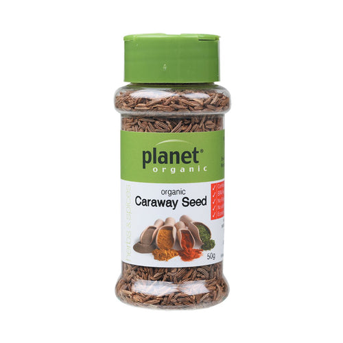 Planet Organic Spices Caraway Seed 50g - GoodnessMe