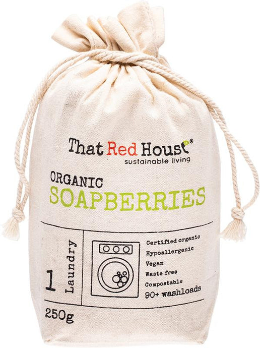 That Red House Organic Soapberries 90+ Washloads 250g - GoodnessMe