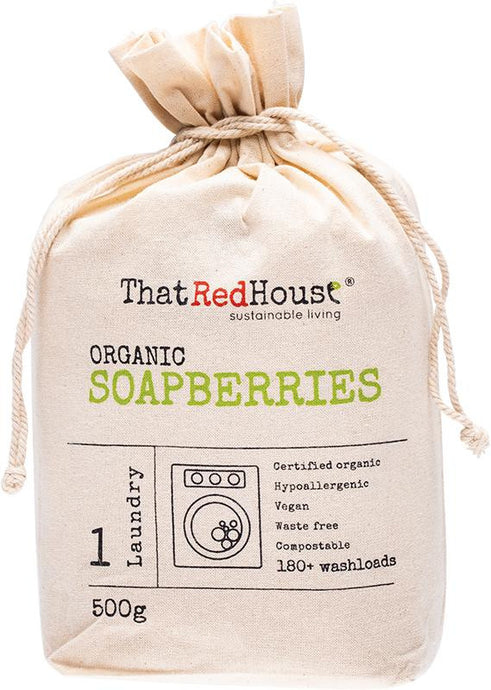 That Red House Organic Soapberries 180+ Washloads 500g - GoodnessMe