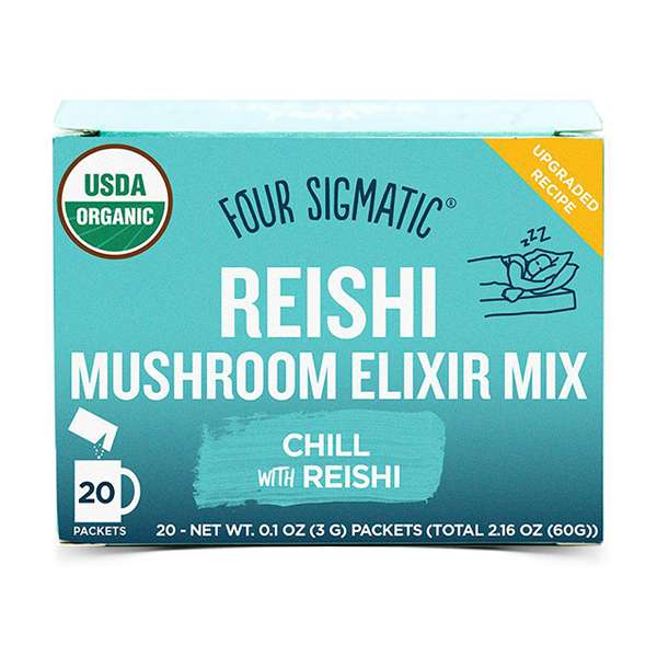Four Sigmatic Mushroom Elixir Mix Packets with Reishi ( 20 x 3g )
