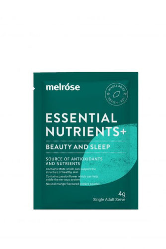 Melrose Essential Nutrients + Beauty & Sleep (30 x 4g Sachets) - GoodnessMe