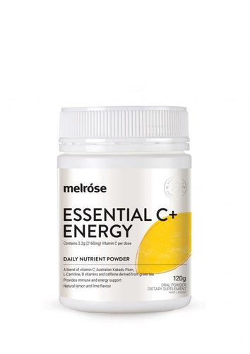 Melrose Essential Vitamin C+ Energy 120g - GoodnessMe