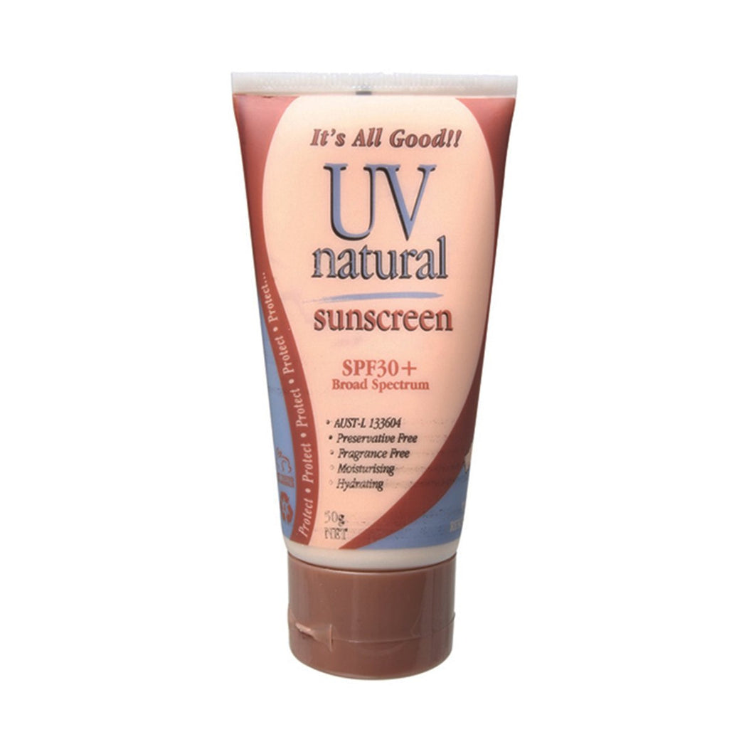 Uv Natural Sunscreen Natural SPF 30+ 50g