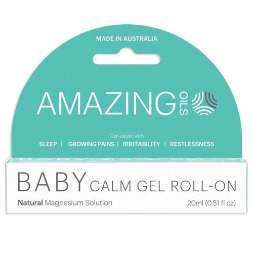 Amazing Oils Baby Calm Gel Roll-On - GoodnessMe