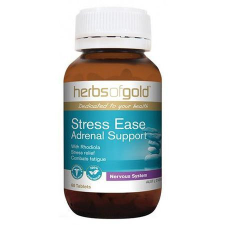 Herbs of Gold Stress Ease Adrenal Support - GoodnessMe
