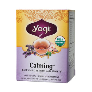 Yogi Tea Herbal Tea Bags Calming 16 bags