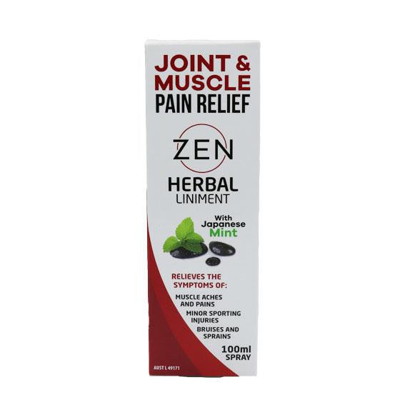 Zen Herbal Zen Herbal Liniment Spray 100ml - GoodnessMe