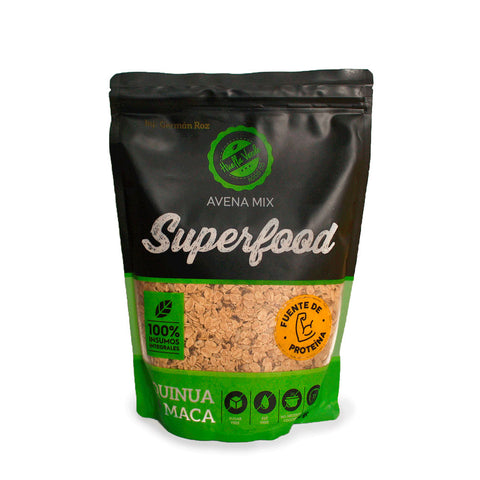 Avena Mix Superfood 600 gr - Huella Verde
