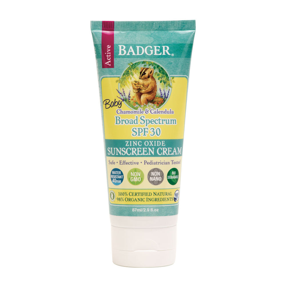 Protector solar baby SPF30 87 ml - Badger