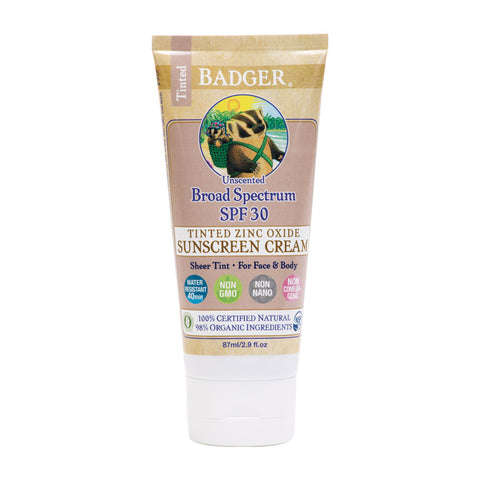 Protector solar Tinted SPF30 87 ml - Badger