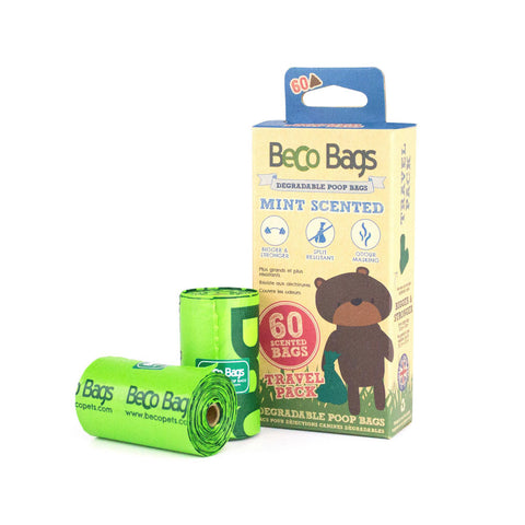 Bolsas biodegradables (Menta) 60 und - Becopets