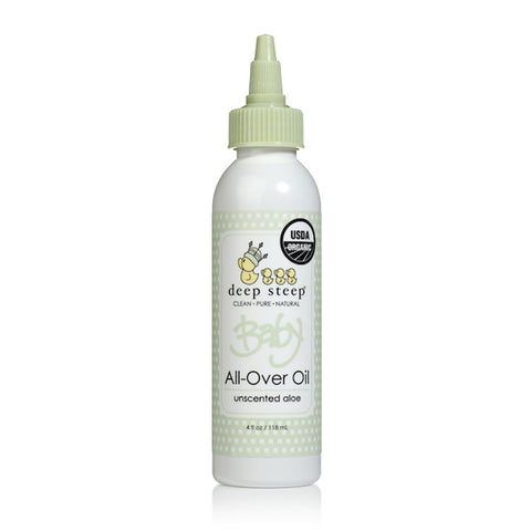 Aceite corporal para bebé aloe 118 ml - Deep Steep Baby