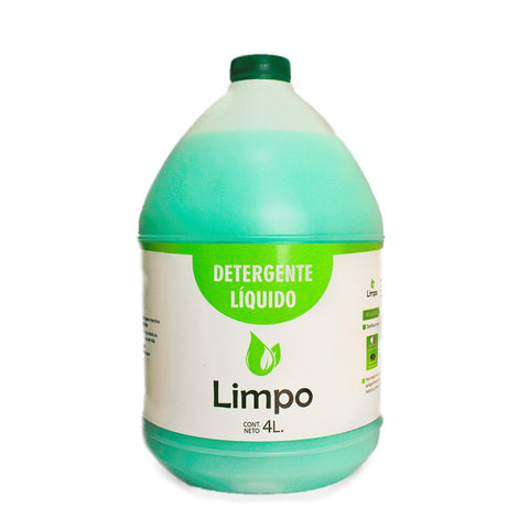 Detergente líquido para ropa 4 lts - Limpo