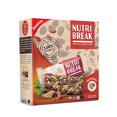 Barras - NutriBreak De Nueces 6 Unidades - EcoAndino