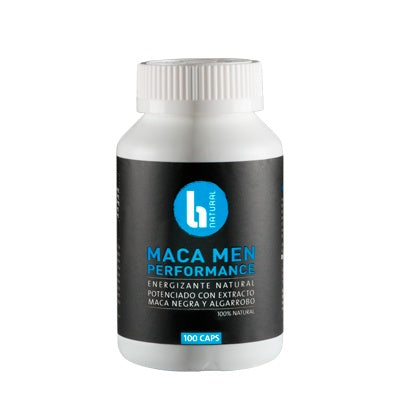 Cápsulas - Maca Men Performance 100 X 500 Mg - BNatural