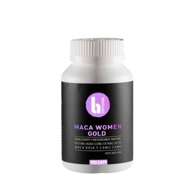 Cápsulas - Maca Women Gold 100 X 500 Mg - BNatural